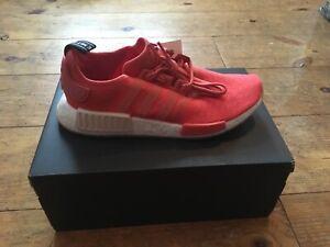 Details zu adidas NMD_R1 W Sneakers Gr. 40 23 Damen Schuhe NEU Farbe Rot Red