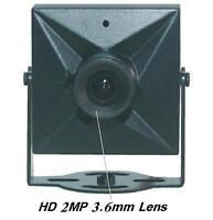 Sunvision 1200tvl Hd 1/3 Sony Cmos Snout Spy Camera 2mp 3.6mm Lens (45c)