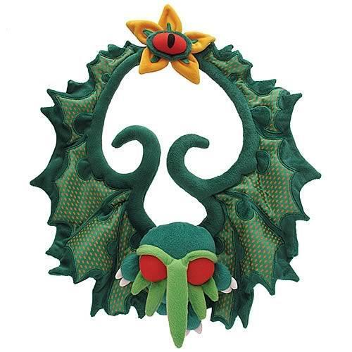 "CTHULHU 18"" DELUXE CTHULHU Great One PLUSH Christmas WREATH HP Lovecraft"