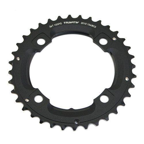 SRAM / Truvativ MTB X0, X9, 2x10 speed 36T Chainring BCD 104mm, No Pin