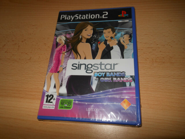 SingStar BoyBands vs GirlBands (PS2)    PS2 NEW SEALED uk pal version