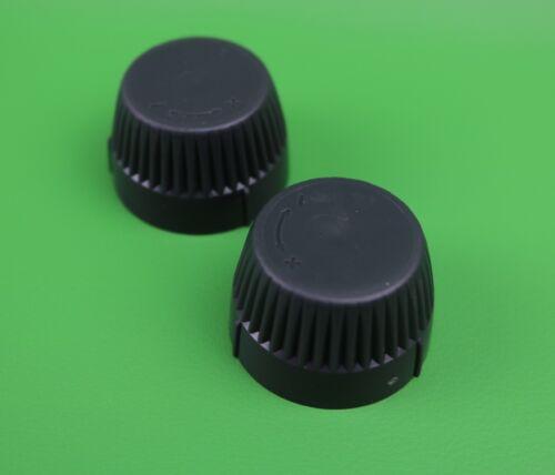 Honeywell TRV Radiateur Vanne mise en service Cap Cover Noir Pack de 1//2//4//6//8//10