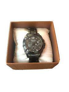 COACH-Black-Chronometer-watch-Ladies