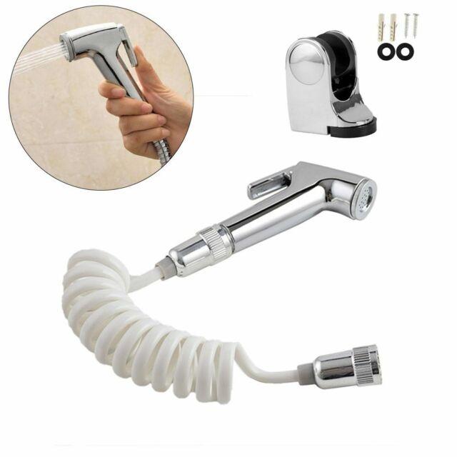 Handheld Toilet Spray Nozzle Sprinkler Shower Head Bidet Bathroom Tools.