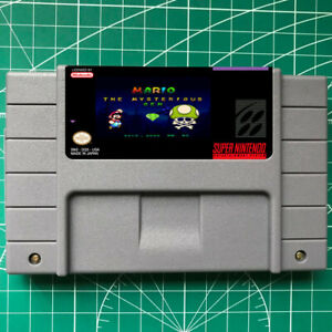 MARIO MESTERIOUS GEMS SNES Video Game USA Version