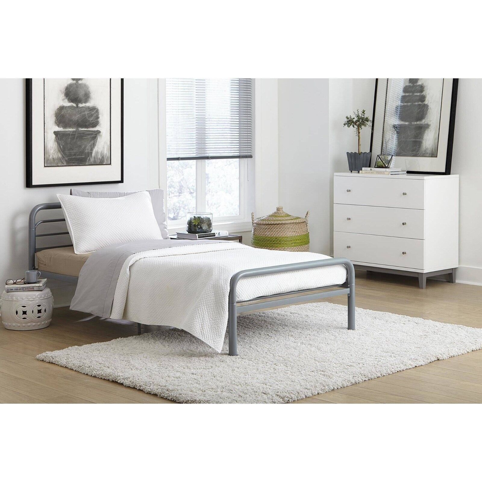 """Dorel Home 6/"""" Twin Quilted Mattress Multiple Colors *BRAND NEW*"""