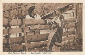 Port-Nazionale-Roman-Rumanische-Volkstracht-Costume-Folklorica-Rumeno