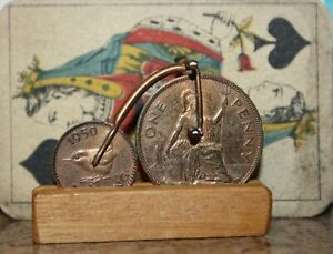 VINTAGE-COIN-MODEL-OF-BRUEL-BROTHERS-PENNY-FARTHING-BICYCLE-NICE-QUALITY