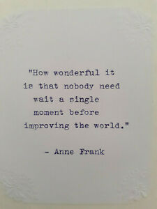 Anne-Frank-Quote-Vintage-Typed-in-Purple-Embossed-Corners