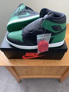 Desafortunadamente hogar empujar  Nike Air Jordan 1 Retro Verde Pinheiro (2020) sz13 Chicago criados Royal  Black Toe Shad   eBay