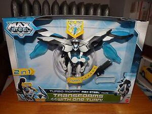 Max Steel, Figurine Turbo Morph Steel 6   Max Steel, Turbo Morph Steel 6
