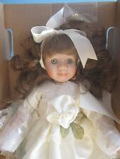 "Fine porcelain 10"" LITTLE JEWEL WORLD GALLERY BIRTHSTONE ""AUGUST"""