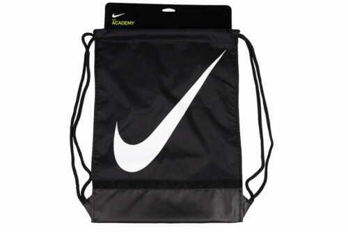 Nike Unisex Shoe Sack Gym Bag Football PE Kit School Sport Black Mens BA5424-010