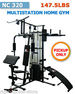NEW-MULTI-STATION-HOME-GYM-FITNESS-EQUIPMENT-with-Weight