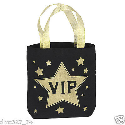 1 Movie Night HOLLYWOOD Awards Party Favor Fabric VIP Swag GOODY BAG