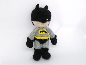 Batman Crochet Pattern Amigurumi   Etsy   Batman amigurumi, Muñeca ...   225x300