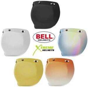 Bell Universal 3 Snap Helmet Shield Custom 500 Clear Smoke Amber Pink