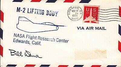 Edwards 15.11.71 üBerlegene Leistung Briefmarken Motive Space Shuttle M-2 Lifting Body Pilot Dana Ou