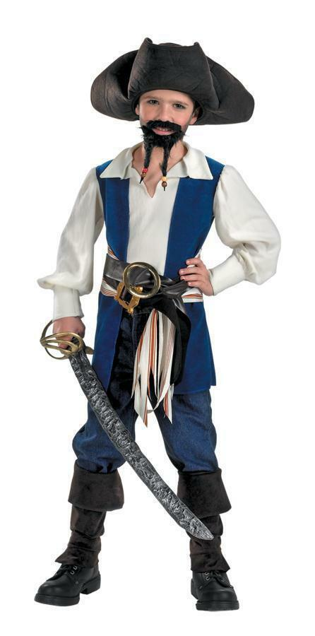 Pirates of the Caribbean - Captain Jack Sparrow Child Costume For Boys