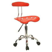 Computer Task Chair Tractor Seat Back Swivel Rolling Adjustable Stool Colors