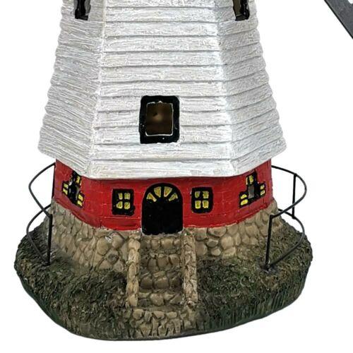DEL solaire extérieur lampe reste Vent roue moulin terrasses terrain deco luminaire coloré