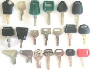 20-Keys-Heavy-Equipment-Construction-Equipment-Ignition-Key-Set-High-Quality