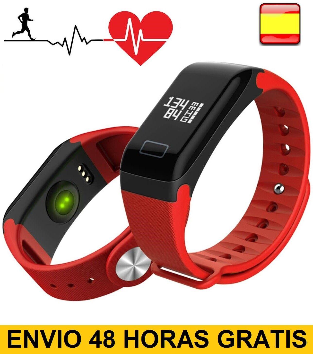 Pulsera inteligente de actividad smart watch pulsometro pasos calorías multifunc