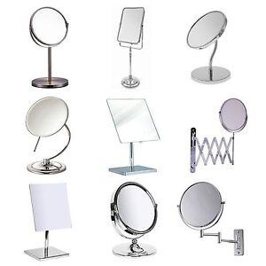 Bathroom Mirror Various Make Up Swivel, Swivel Bathroom Mirror