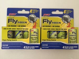 Image Is Loading 2 Pks Of PIC Fly Paper Ribbon Insect