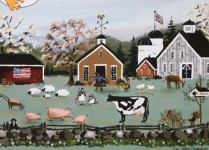 Bits & Pieces 1000 Piece Jigsaw Puzzle Old Fashioned Farm ...
