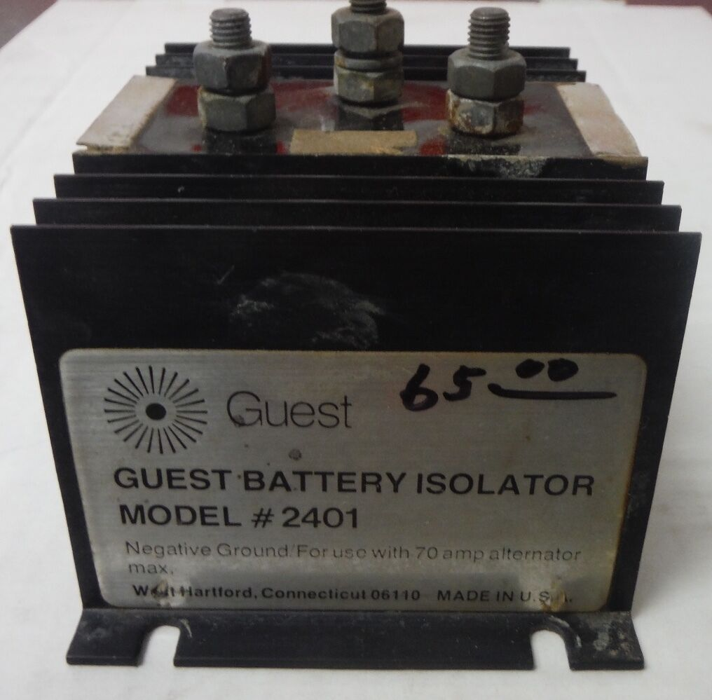 Guest Battery Isolator Model 2401 For 70 Amp System Ebay Combiner Wiring Diagram