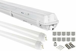LED-Wannenleuchte-Leuchtstofflampe-20W-36W-60-120cm-IP65-2x-T8-LED-1600-3200LM