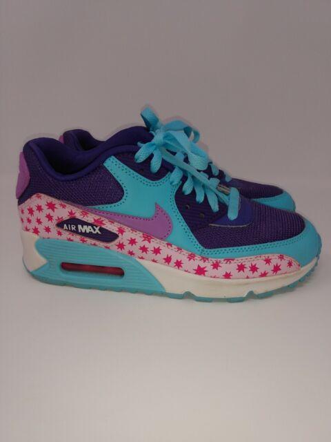 Nike Toddler Girls' Air Max 90 Premium Mesh Running Sneakers