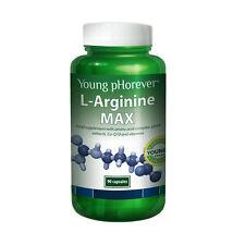 L-Arginine MAX with amino acid complex, plant extracts, Co-Q10 and vitamins