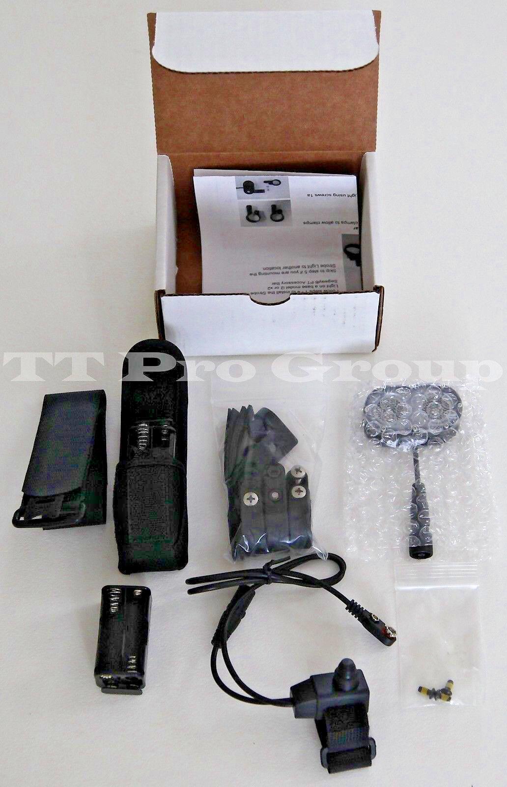 Segway 2220000001 Patroller Integrated Flashing Light Kit rossoblu
