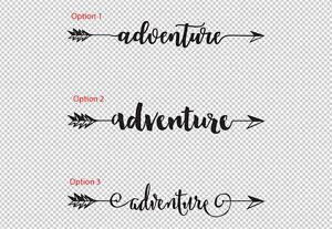 Adventure-Arrow-Boho-Bohemian-Hipster-Vinyl-Decal-Car-Boat-Wall-Door-Sticker