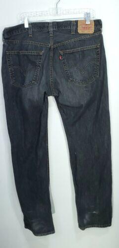 Vintage Levi's 501 Men's Jeans Black Size 38x34 Bu
