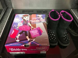 Girls Sketchers Twinkle toes boots