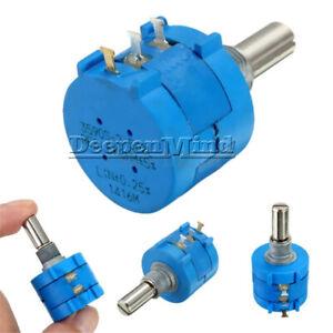 2PCS-3590S-2-502L-5K-Ohm-Rotary-Potentiometer-Wirewound-Pot-10-Turn-Precision