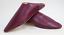 plum. Moroccan Babouches slippers for Women