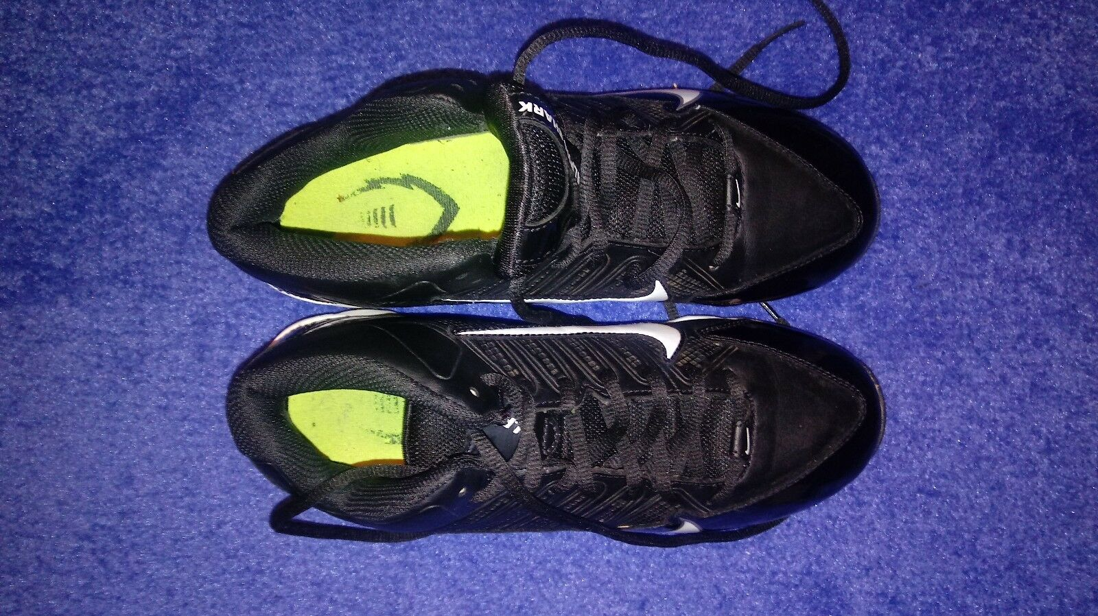 EUC Nike Mens 6.5 Black Athletic Cleats Shoes  The most popular shoes for men and women