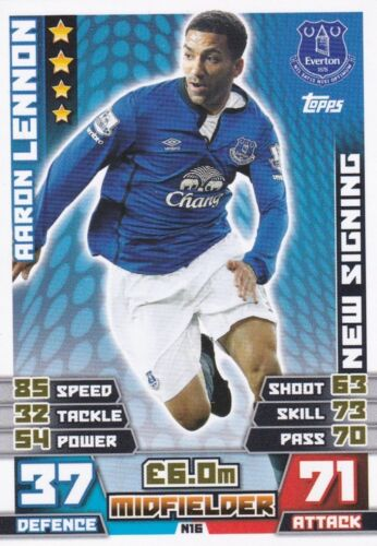 n1-n21 nouvelles signatures Match attax extra 2015 trading cards