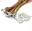 1-25mm-1-25-micro-JST-conector-cable-15cm-conector-2-3-4-5-6-7-8-9-10-11-12-pin miniatura 2