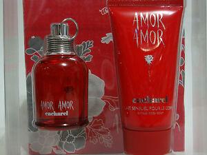 Cacharel Amor Amor Perfume Gift Set 1 Fl Oz 30 Ml Edt 50 Ml Body Lotion Nib Ebay