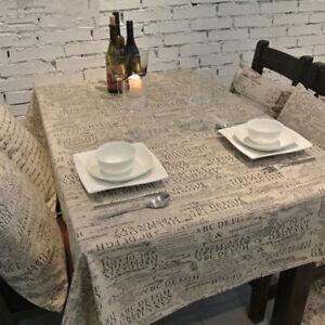 AM-EG-Retro-Letter-Pattern-Tablecloth-Cotton-Linen-Table-Cover-Home-Decor-Gift
