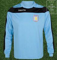 Aston Villa Sweater - Genuine Macron Training Wear - Sky Blue - Flash Sale