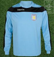 Aston Villa Sweater - Genuine Macron Training Wear - Sky Blue - Flash Sale