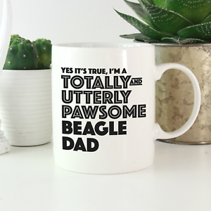 Funny gift for beagle dog owners /& lovers Beagle Dad Mug Beagle gifts