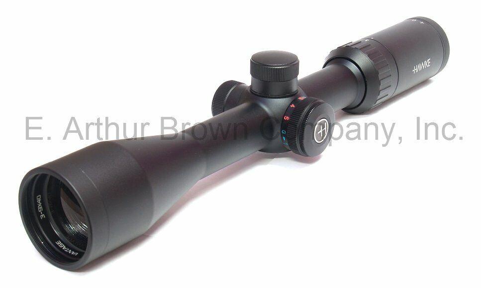 Hawke 14222 telescópica Vantage 3-9x40 Rimfire 22 alta Velocity