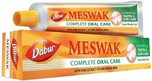 Dabur-Meswak-Complete-Oral-Care-Toothpaste-Dental-Cream-Pure-Herbal-Miswak